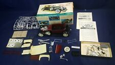Hubley SJ Duesenberg Metal Kit Model Partially Assembled Box # 4864 Instructions