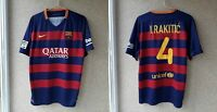 Barcelona Home football shirt 2015/2016 Jersey Nike Soccer Spain # Ivan Rakitić