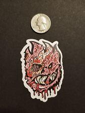 spitfire sticker *** decaying flame head sticker *** skateboarding sticker