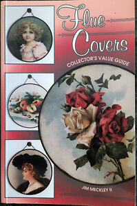 ANTIQUE FLUE COVER COLLECTOR'S GUIDE BOOK -Color- Great Condition