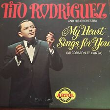 1965 Tito Rodriguez My Heart Sings For You Lp Spain ACS3063