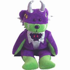 "Skansen Beanie Kids ""Baddie The Villain Bear"" Mint With Mint Tag September- 2005"