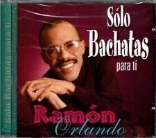 Ramon Orlando Solo Bachatas Para Ti  BRAND  NEW SEALED CD
