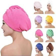 Microfiber Towel Quick Dry Hair Fast Drying Turban Wrap Hat Cap Bathing Fashion
