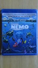 Disney*Pixar Finding Nemo Blu-Ray + Blu-Ray 3D + Dvd + Digital Hd New Sealed