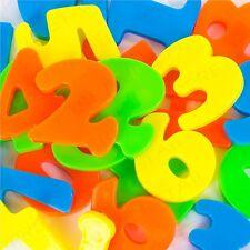 52x MAGNETIC FRIDGE NUMBERS SET Childrens Fun Learning/Teaching Maths & Symbols
