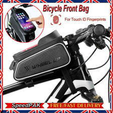 Waterproof MTB Bike Bicycle Front Tube Pouch Bag Frame Pannier Smartphone Holder