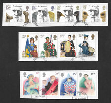 GB 1982 stamps Darwin Christmas Year Set fine used on paper SG1175-1206