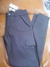 American Rag Black Cargo Style Stretch Slim Pants Size 1 NWT