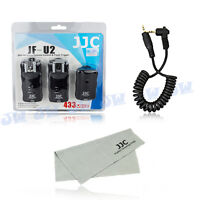 JJC 2X Wireless Flash Trigger Remote Shutter For Canon EOS 760D 750D 700D 1200D