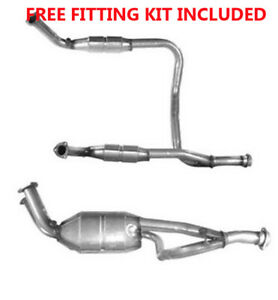 Fit with LAND RANGE ROVER Catalytic Converter Exhaust 90214 4.0 (Fitting Kit Inc