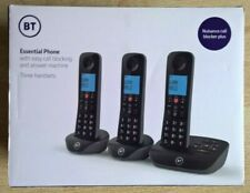 BT Essential Cordless Home Phone with Nuisance Call Blocking, Three Handset