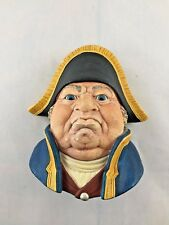 1969 Bossons Old Head Mr. Bumble Chalkware Wall Hanger Made In England