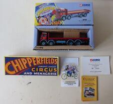 CORGI 97957 ERF 8 WHEEL RIGID TRUCK CHIPPERFIELDS CIRCUS BOXED SUPERB