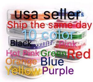 10x Lot Mix Color Earphones Earbuds Headsets Headphones Remote & Mic