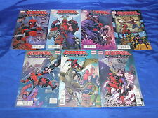 Deadpool: Dracula's Gambit (2014) #1-7 First 1st Prints Complete Mini Seires NM