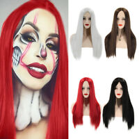 Fashion Women Lady Long Straight Cosplay Wig Multi-colour Party Full Hair Wigs