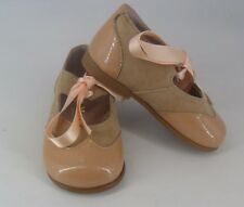 Donna Maria Ribbon Tied Leather Childrens Shoes UK 3 EU 20 CH05 14