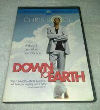 Down to Earth DVD 2001 Widescreen Chris Rock RARE