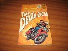 THE DEATH CYCLE BY CHARLES RUNYON VINTAGE PULP FICTION 1963