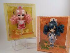 """Jun Planning Groove  Little Dal NEIRYO and BOHSON Doll 4.5"""" mini pullip Nurses"""