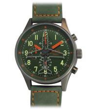 Orologio Uomo Vintage Cronografo Sportivo Militare Acciaio Subacqueo MEC
