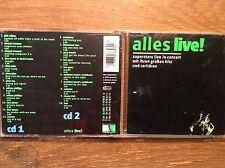 Alles Live [2 CD Box] Elton John Chris Rea Bap Bee Gees Scorpions Fleetwood Mac