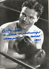 Billy Soose Signed Photo COA R6/18 choice of 2 poses