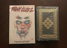 Easton Press Fight Club by Chuck Palahniuk Signed!! 2 books, Easton Press + HC