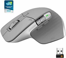 Logitech MX Master 3 Advanced Wireless Mouse With High-Precision Sensor Mid Grey