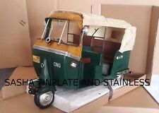 APE PIAGGIO VESPA TUK TUK TAXI SCOOTER handmade tin toy tinplate car model