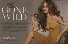 Leighton Meester 4pg INSTYLE magazine feature, clippings