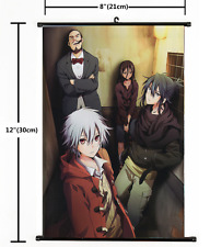HOT Anime No.6 Shion & Nezumi Wall Poster Scroll Home Decor Cosplay 1602