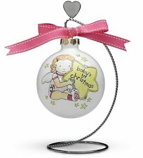 """CUTIE PATOOTIE"" #73021 ""BABY GIRLS 1ST CHRISTMAS"" ORNAMENT PAVILION GIFT CO NIB"