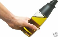 Trudeau Oil or Vinegar Bottle Glass Dispenser Kitchen Cooking Home