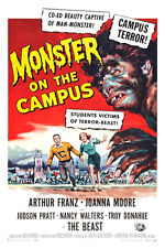 "Monster on the Campus Movie Poster Replica 13x19"" Photo Print"