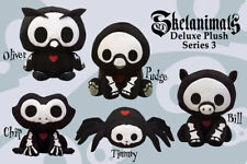 Skelanimals Deluxe Plush S3 - New Old stock with tags. Still in bag - 5 Choices