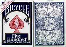 Bicycle Six Handed Five Hundred Playing Cards – Printed in Ohio – SEALED