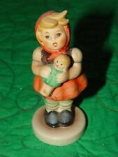 Hummel Goebel Little Girl holding Baby Doll Figurine Porcelain1992