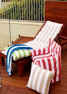 Alfresco Stripy Director Chair Covers 100% Cotton