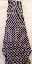 NWT Perry Ellis Portfolio Gray Blue Checked Men's Necktie New
