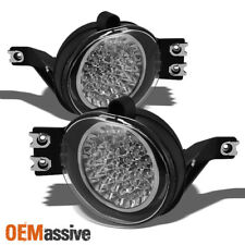 Fits 02-09 Ram Pickup Truck Hyper White Full LED Fog Lights W/Switch Left+Right