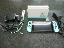 NICE!! Nintendo Switch HAC-001(-01) Animal Crossing: New Horizon Special Edition