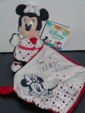Doudou Minnie Mouchoir Blanc Rouge Minnie Aristochat Perfect Friends Disney Baby