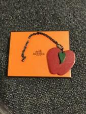 Hermes Fruit Keychain Apple With Box