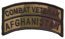 Wax back Combat Vet - Afghanistan Tab - Multi Cam - US Army - USMC - USAF - Navy
