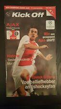 Programme / Programma Ajax Amsterdam v Inter Milan 22-02-2006 1/8 Final UEFA CL
