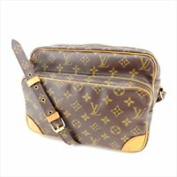 Louis Vuitton Shoulder bag Monogram Brown Woman Authentic Used M846