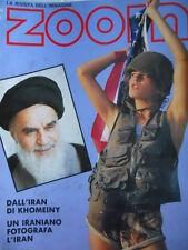 ZOOM - rivista immagine n°90 1989 Hatami fotografa Iran di Khomeiny  [C65]