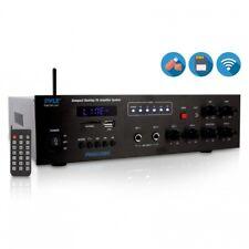Pyle PMSA126BU Wireless Bluetooth Public Address Amplifier Receiver System 500W
